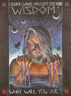 Lee Moyer's 2004 Odin Poster