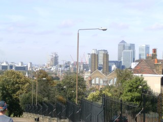View of London From Eastcomb Av