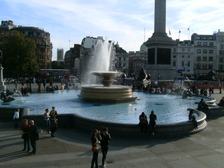 The Fountain at Trafalgar Square
