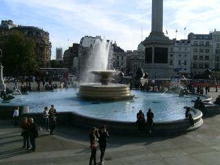 The Fountain at Trafalgar Square