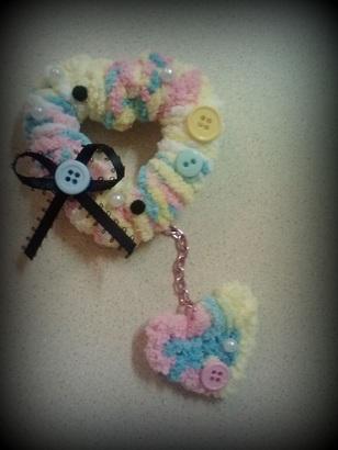 heart clip/brooch