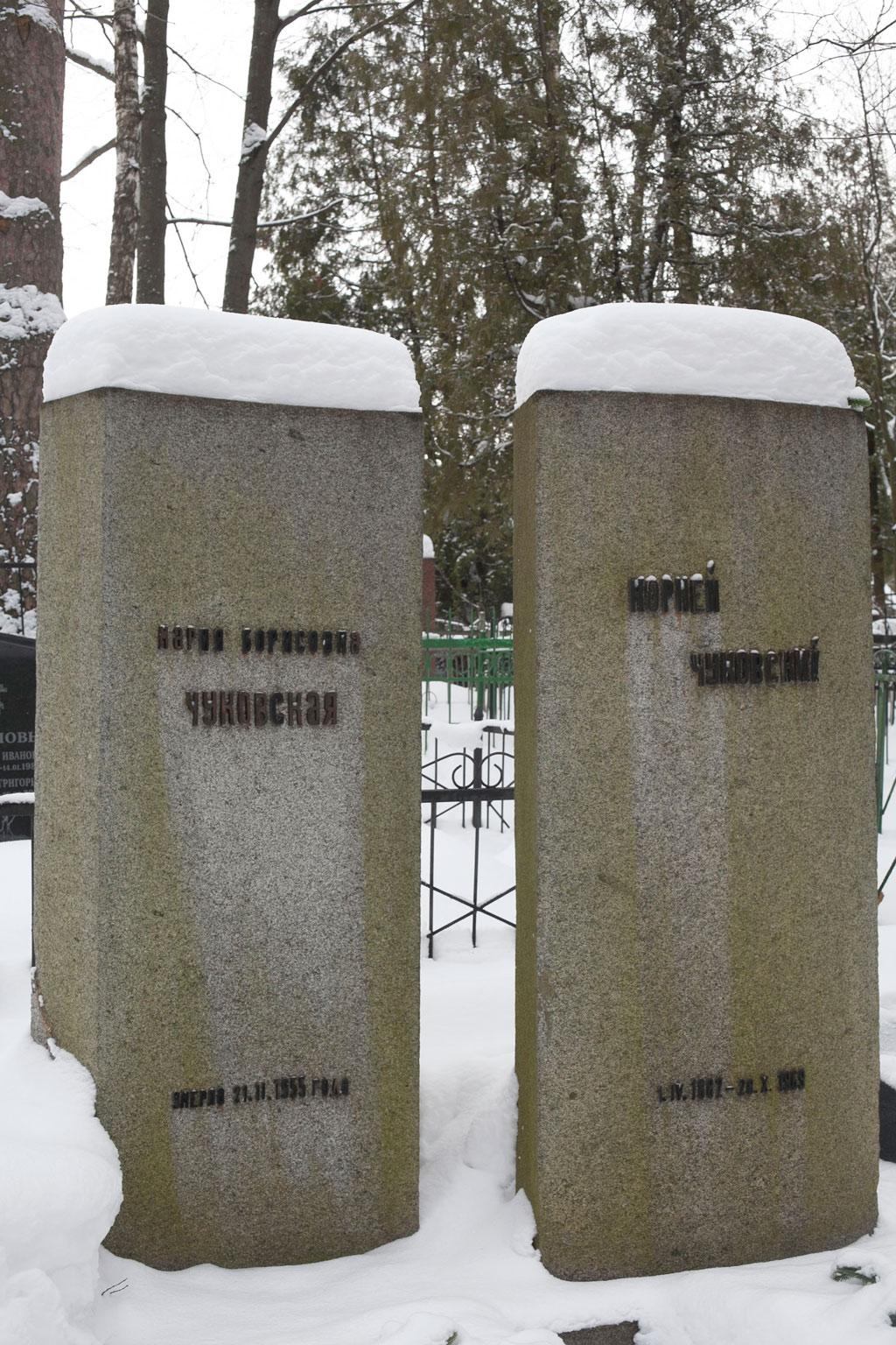 Chukovsky's-grave