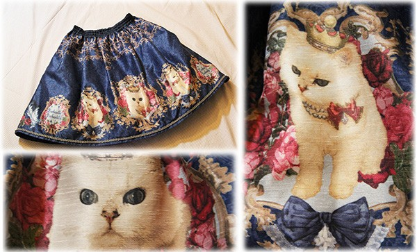 enchantilly queen cat skirt_sm