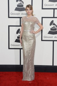 taylor swift front grammy 2014