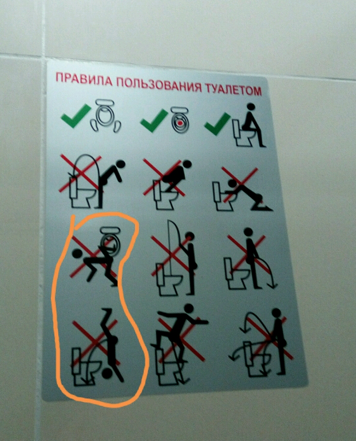 Правила пользования туалетом картинки для детей