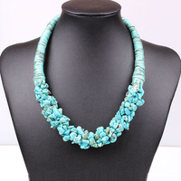 2014_New_Arrival_Handmade_fashion_turquoise_beads_choker_Necklace_statement_jewelry_women_choker_tassel_necklace_SS2033.jpg_200x200