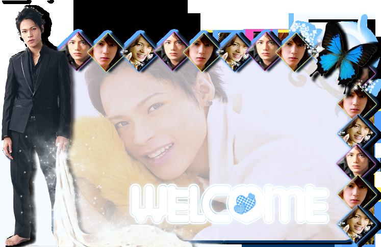 Welcome banner by hana