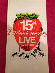 15th Anniversary Live Book
