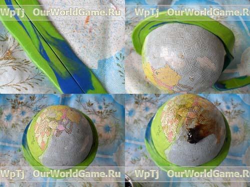 Как сделать большой шар из монтажной пены своими руками 38