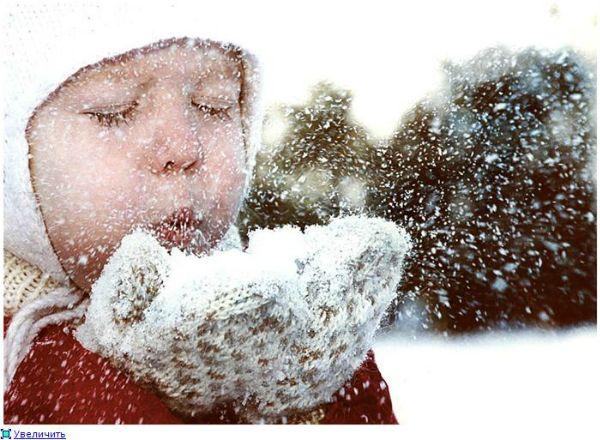 Картинки о зиме с детьми для детей