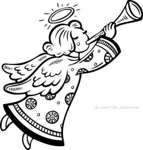 Как сделать ангелочка из бумаги своими руками фото 848