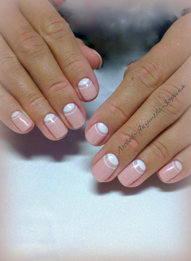 Красивые ногти покрытые гель лаком