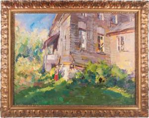 К.Коровин. Лето. У старого дома, 1919