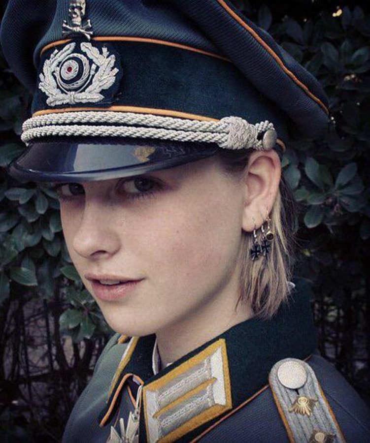 cute girls nude german soldiers uniforms