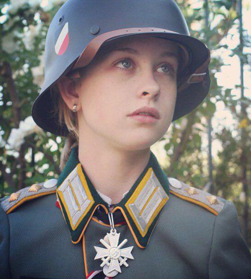 The beautiful russian girl of