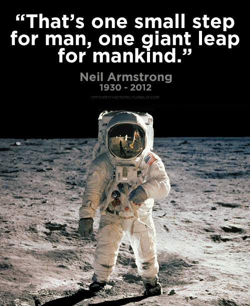 Farewell, Neil Armstrong