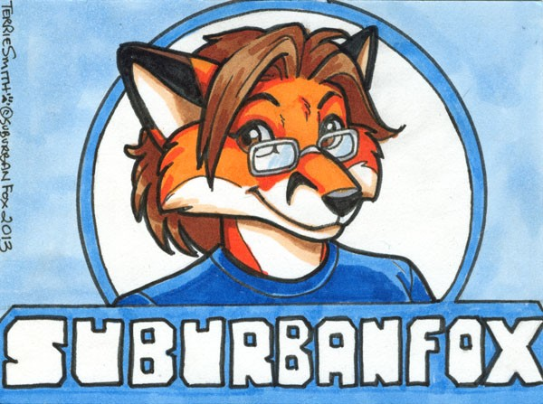 SuburbanFoxBadge