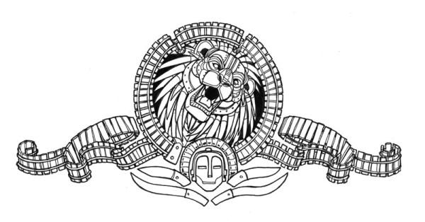 Robot Lion Logo Web