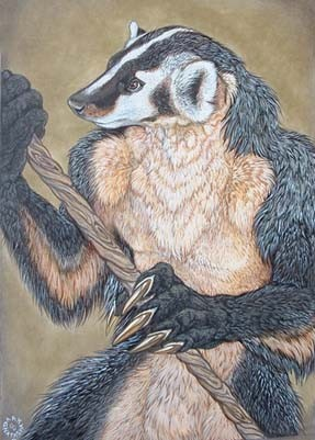 BadgerWarrior Print