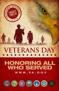"2012 Veteran""s Day Poster"