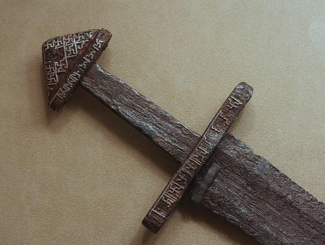 меч викинга 9 век метрополитен музей