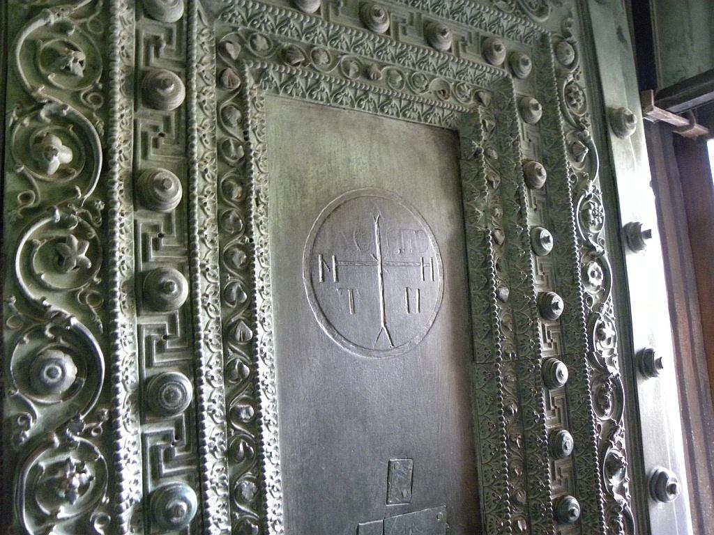 bronze doors of the Church of Hagia Sophia Istanbul