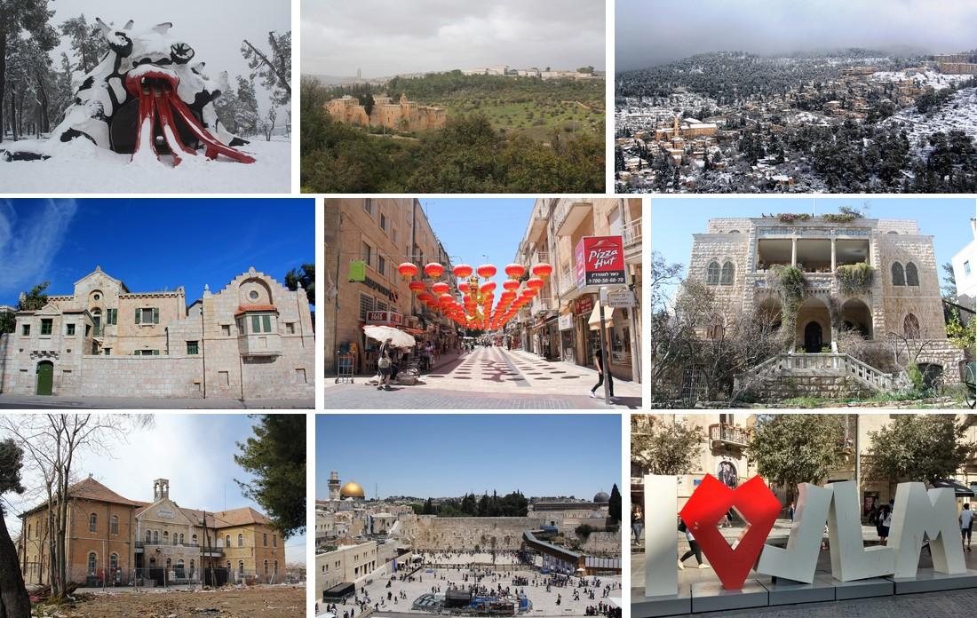 Иерусалим, топ-10: десять самых красивых мест столицы Израиля