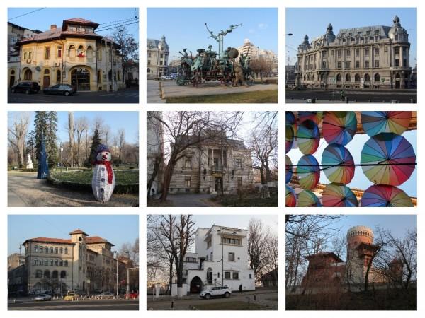 Бухарест - парки, улицы, архитектура, жизнь