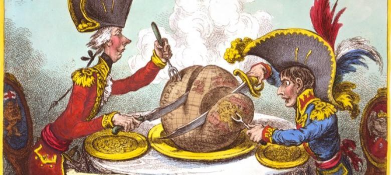 А это картинка — да-да! — времён Наполеона.