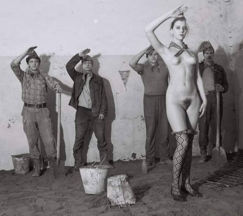 фото пионерки голые