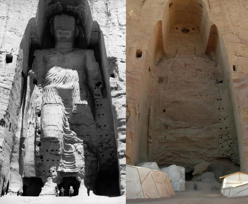 Взорванное талибами культурное наследие человечества