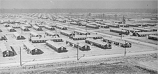 Лагерь для переселенцев