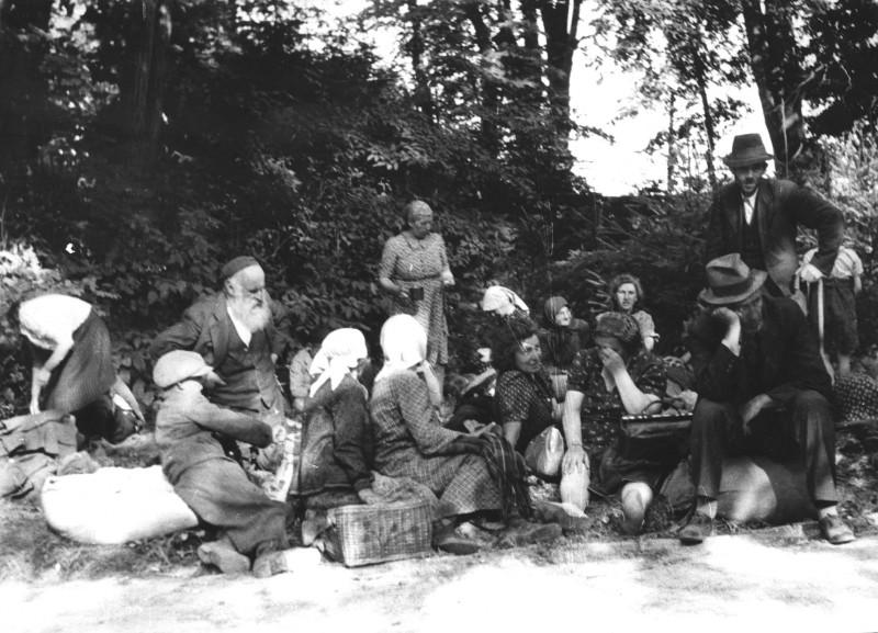 Фотография из архивов мемориального комплекса Яд ва-Шем