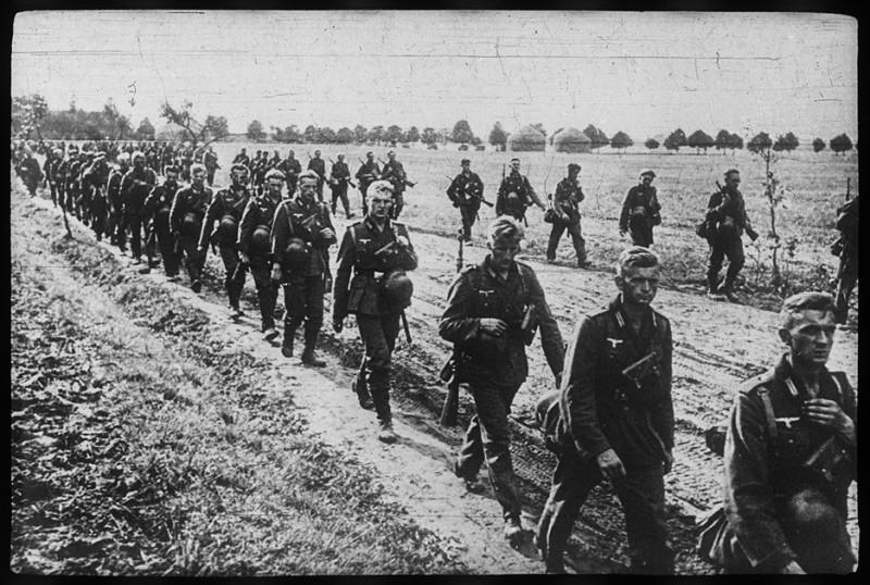Немецкие войска в Польше