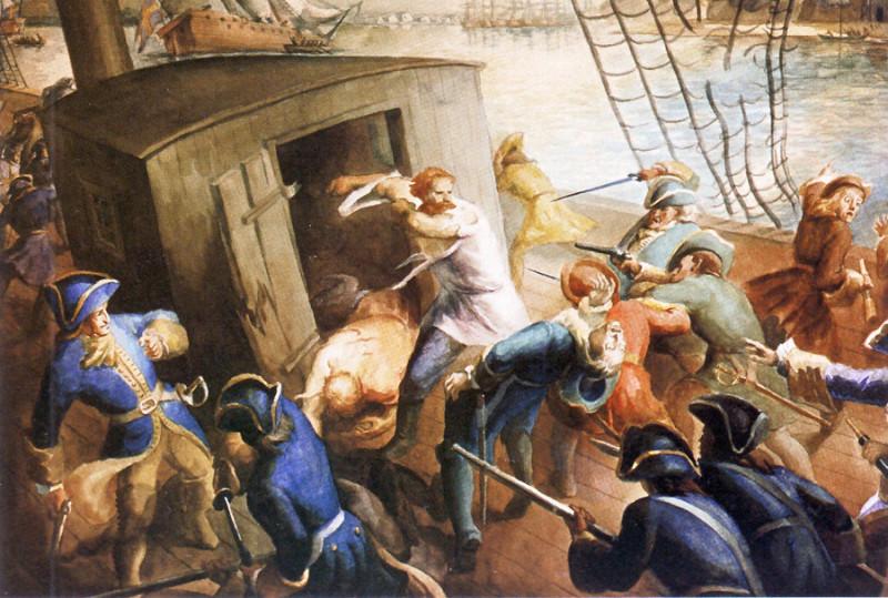 Картина из морского музея.