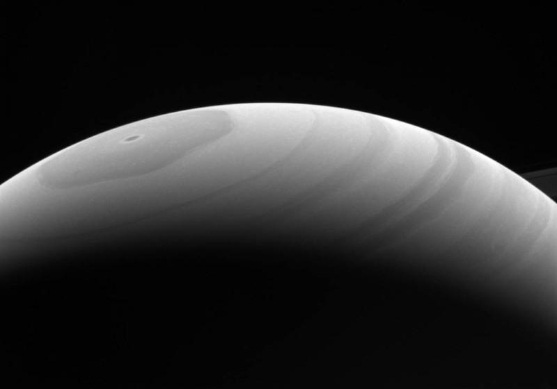 Лето на северном полушарии Сатурна