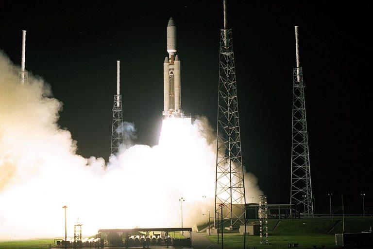 Запуск Cassini