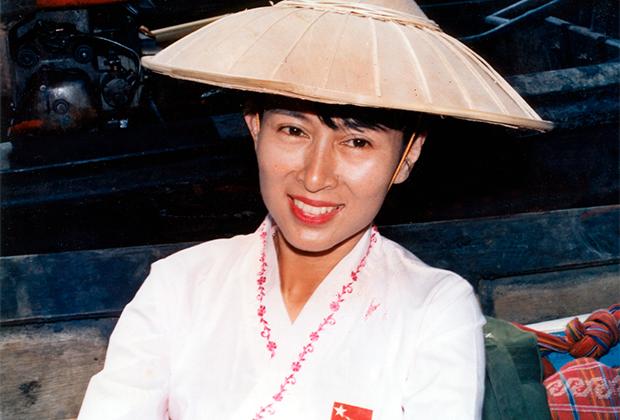 Аун Сан Су Чжи. 1991 год.