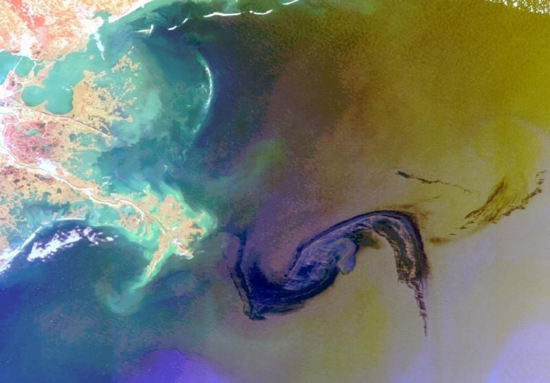 Розлив нефти в Мексиканском заливе