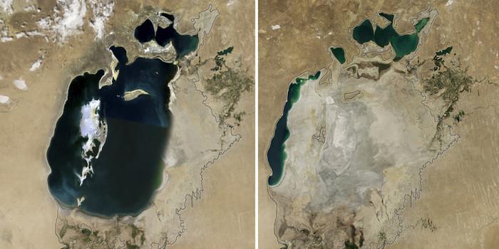 Аральское море — жертва хлопководства