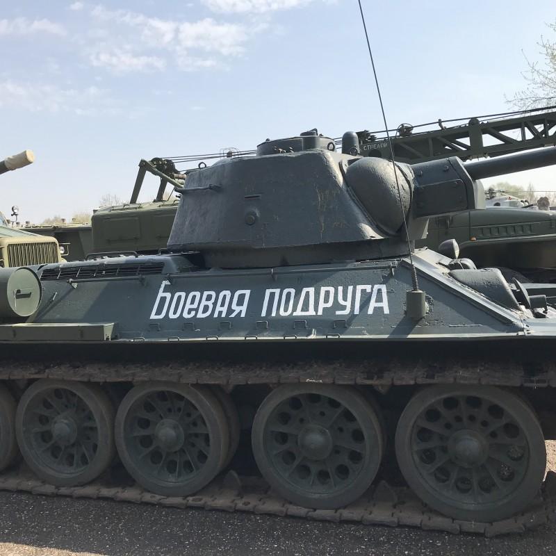 Это танк снимался в сериале «Танки»