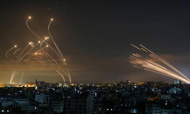Террористический обстрел и работа ПВО