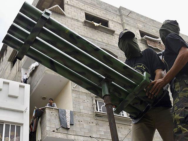 Ракетные установки террористов рядом с жилыми домами