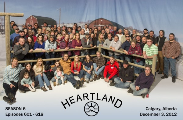 Heartland Season 6 Cast and Crew Photo