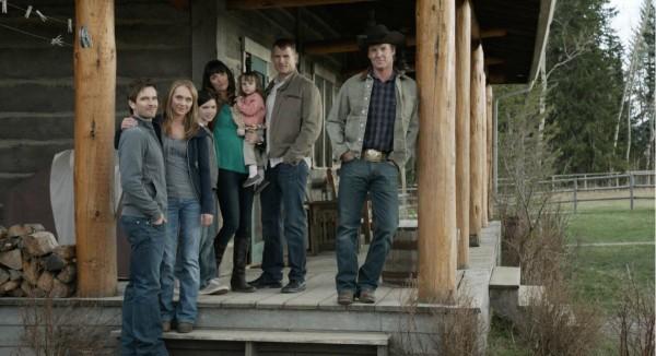 Heartland Season 7 Cast Photo - Chris Potter & Heartland ...
