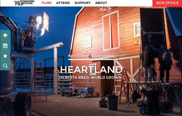 Heartland at Calgary International Film Festival - Alberta ...