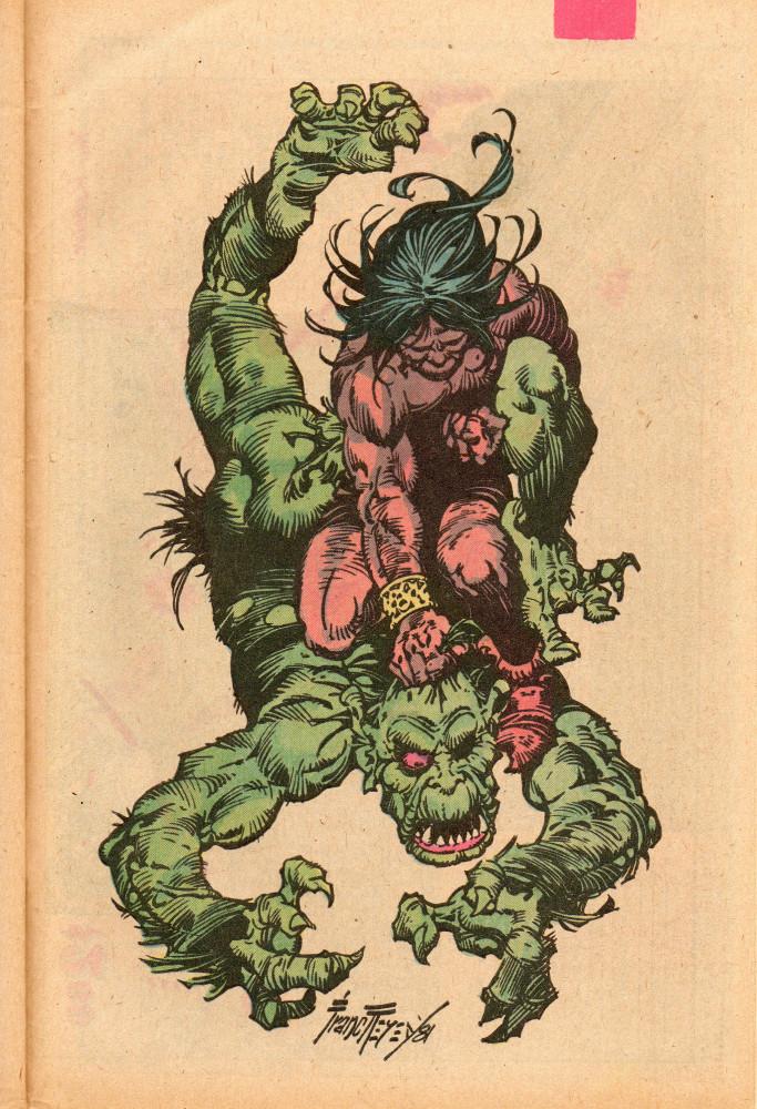 Franc Reyes, Conan the Barbarian Annual #7 (1982)