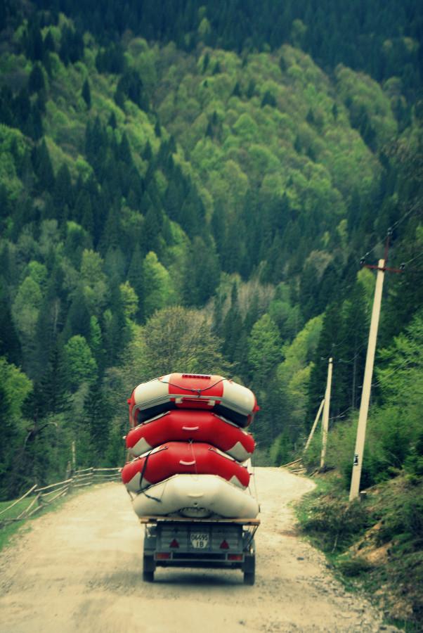 рафтинг-лагерь Затерянный мир, или 30 дней в Карпатах