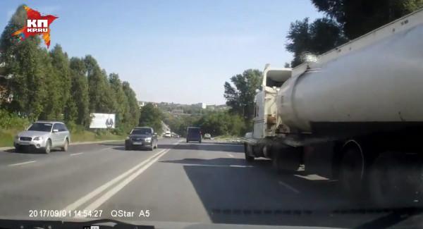 Гибель водителя бензовоза в Тернополе 1