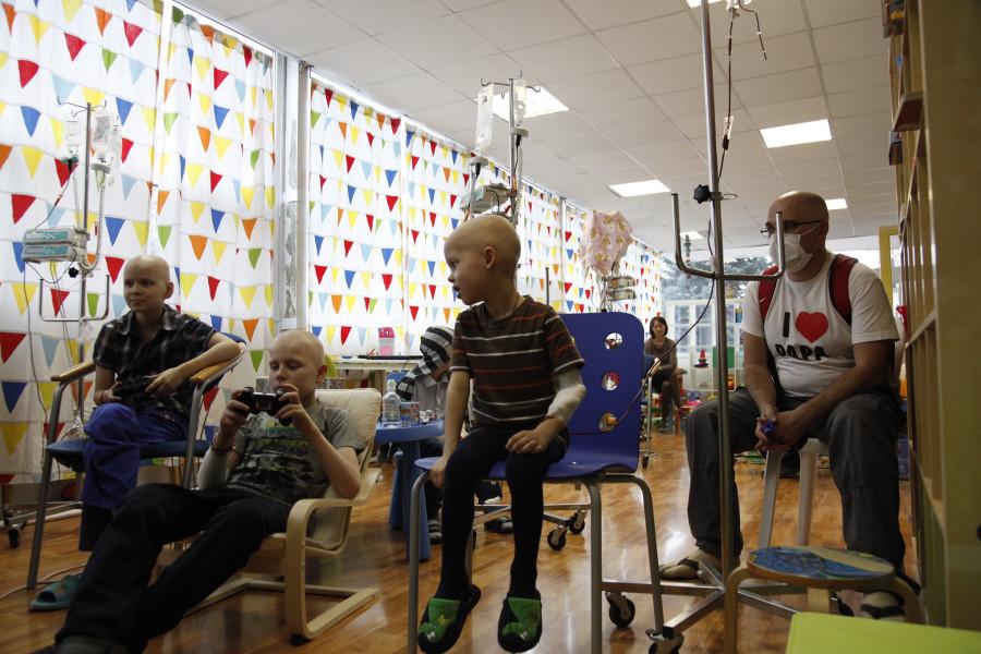 игровая комната в отделении детской онко-гематологии 31 больницы